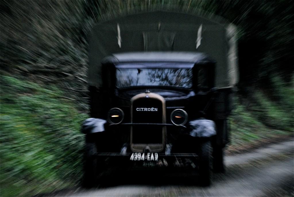L'arrivée du camion…