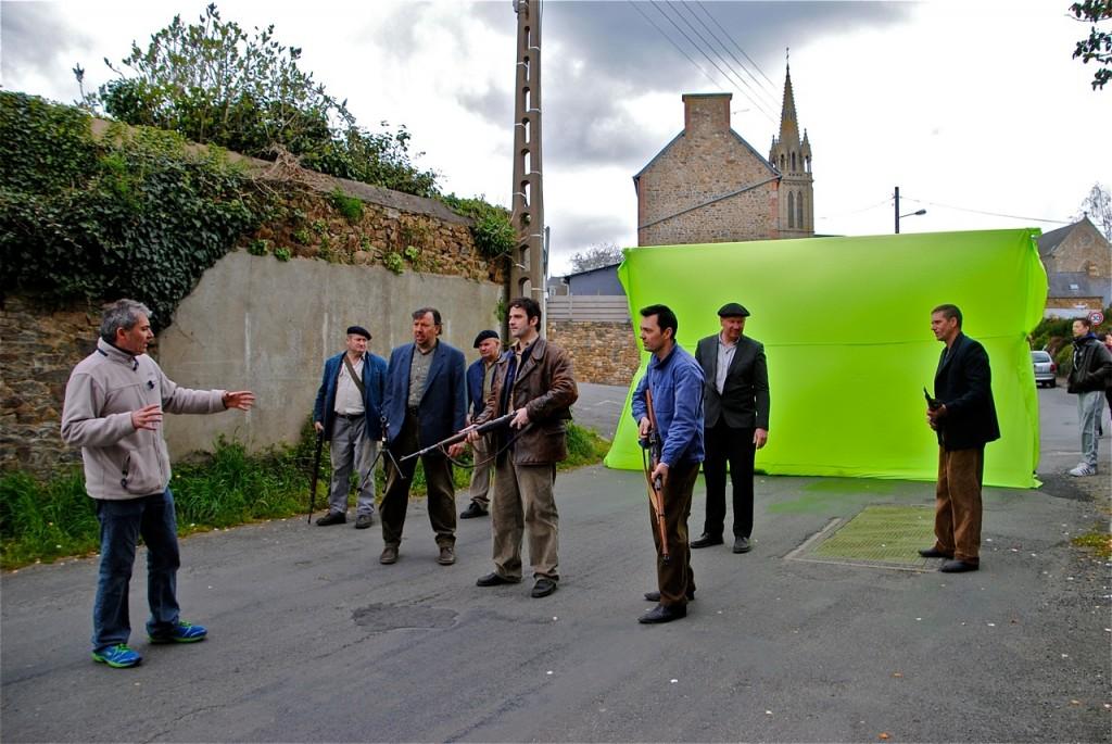 Explication du déroulé de la scène par Nicolas Guillou.