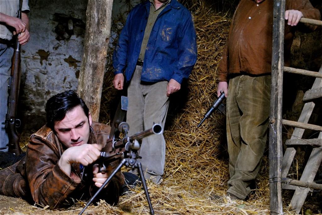 L'apprentissage d'André à la mitrailleuse.