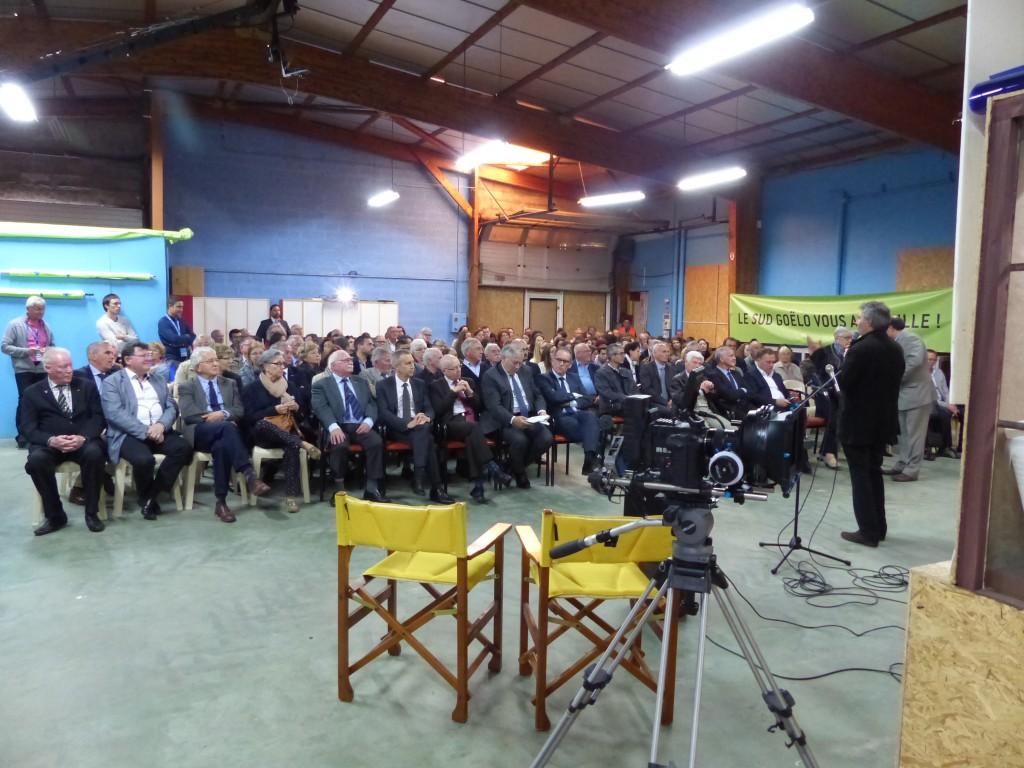 200 personnes étaient présentes au studio de Tréveneuc.
