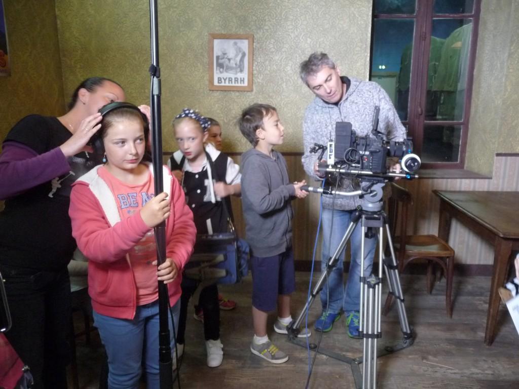 Nicolas Guillou dévoile les bases du maniement de la caméra.
