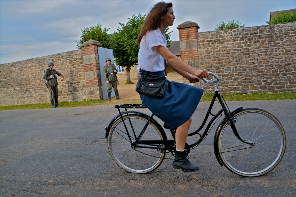 Alexandra Robert préfère le vélo…