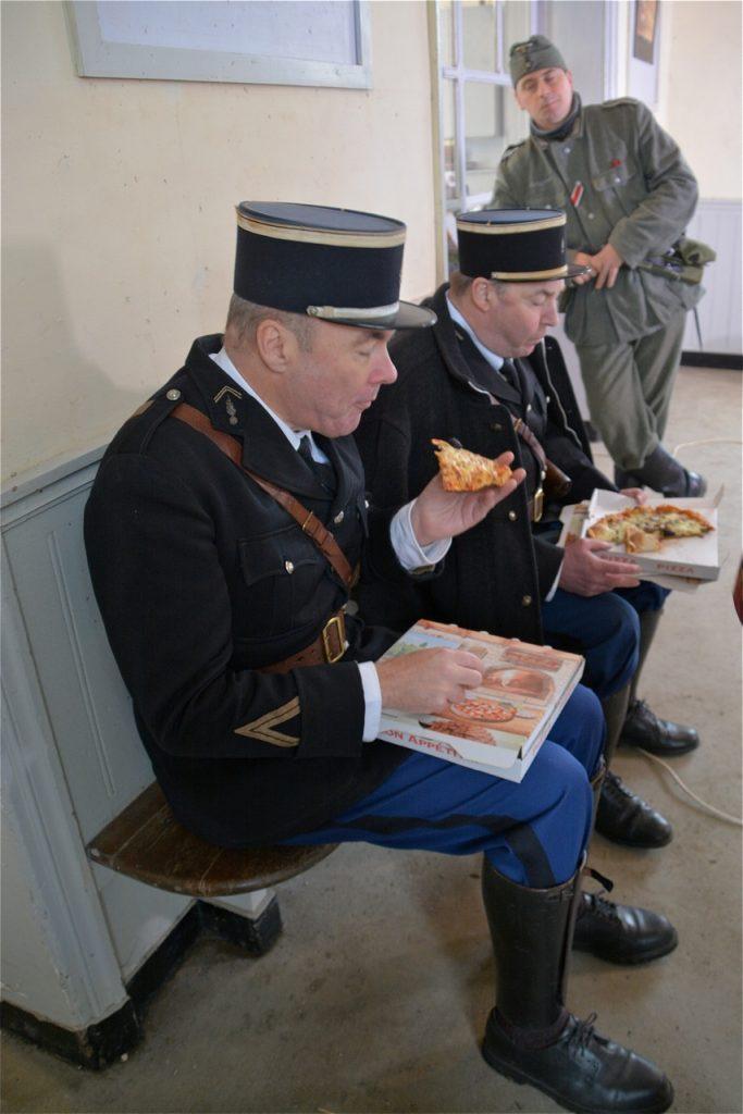Pause-déjeuner : aujourd'hui, c'est pizza !