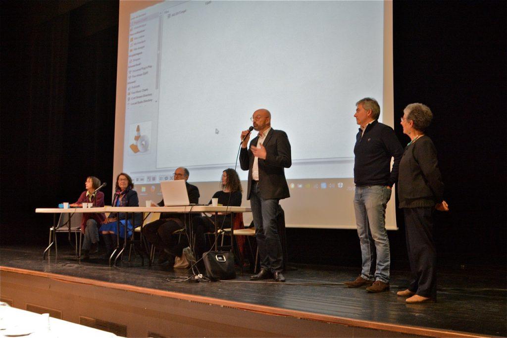 L'intervention de Philippe Le Goux, président de Leff Armor Communauté.