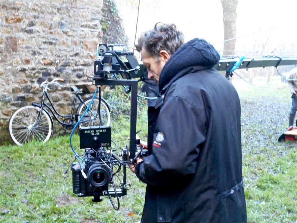 Eric, aux petits soins avec la caméra.