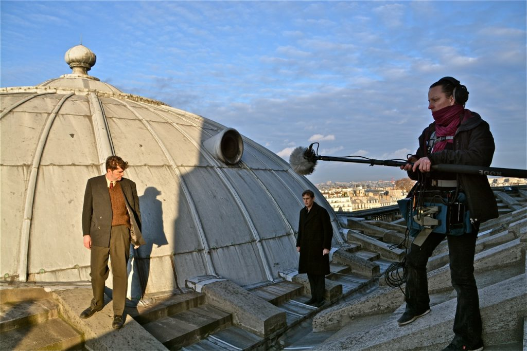 Les aviateurs alliés étaient cachés dans cette petite tourelle recouverte de zinc.