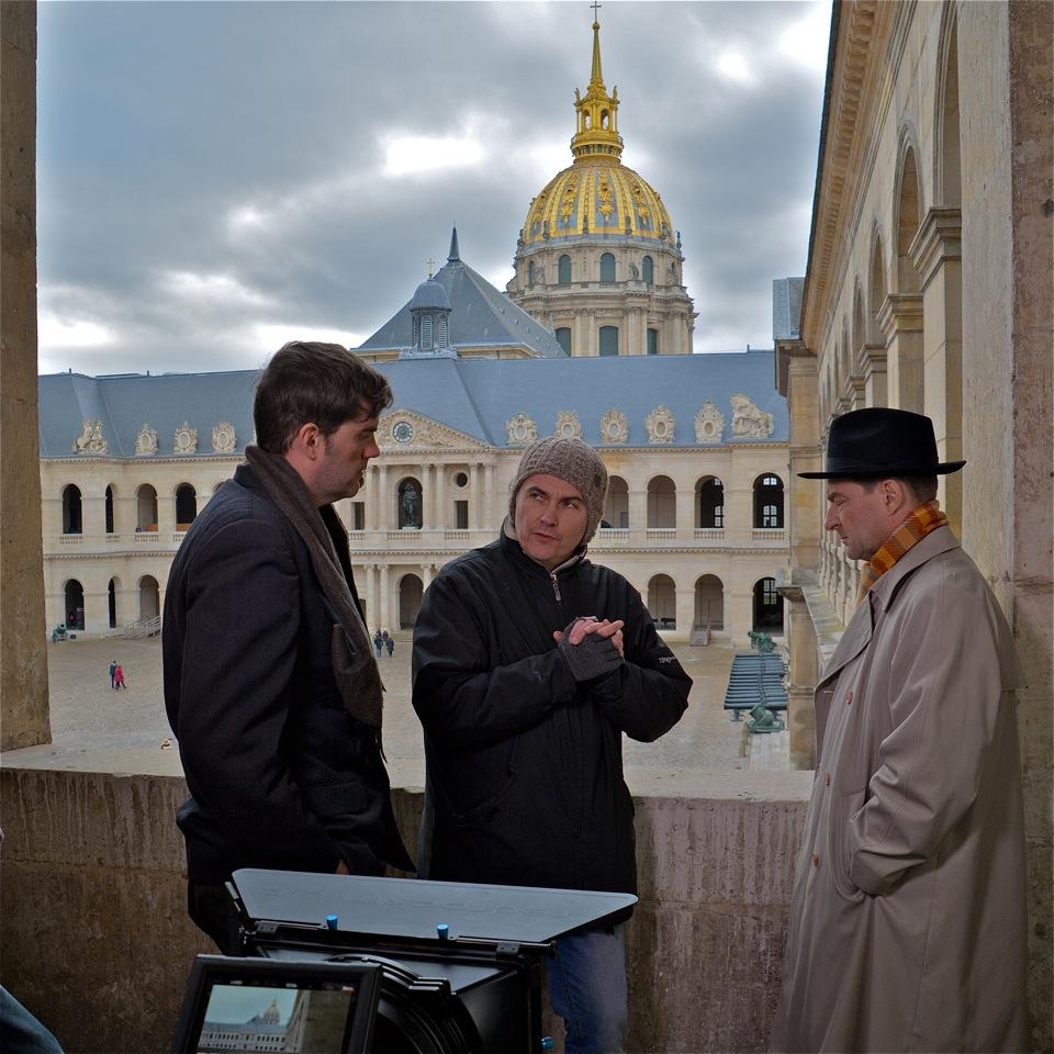 Nicolas Guillou dirige Arnaud Delamotte et David Le Roch.