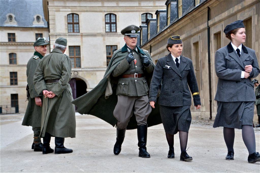 … et militaires allemands.