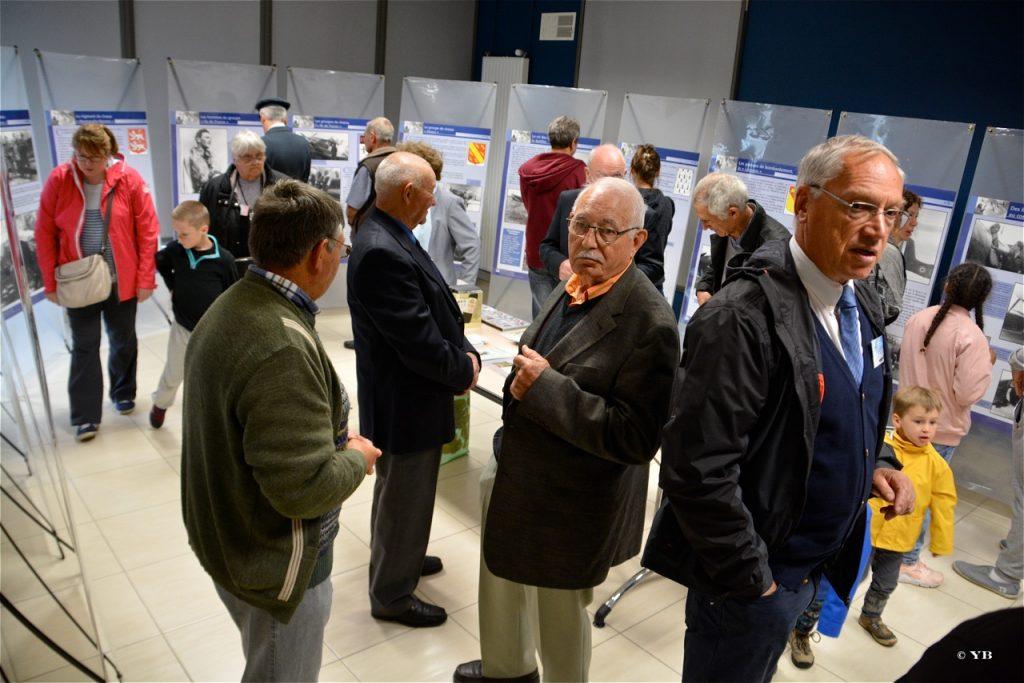 L'exposition sur les Forces Françaises Aériennes Libres.