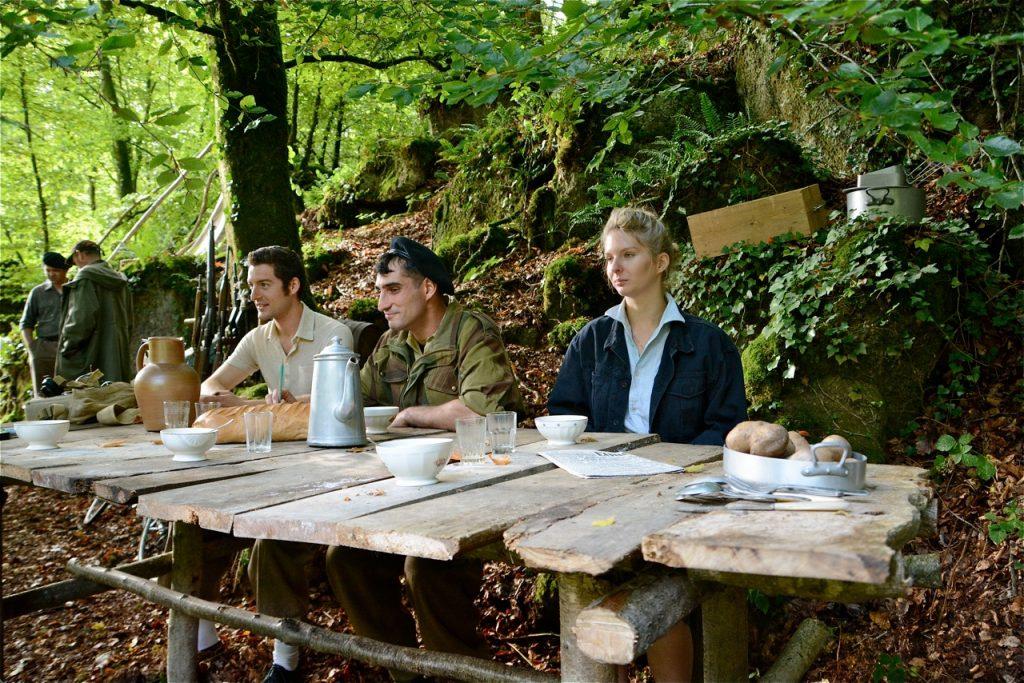 … la table des maquisards a été scrupuleusement reproduite à l'identique d'après les photos d'époque.
